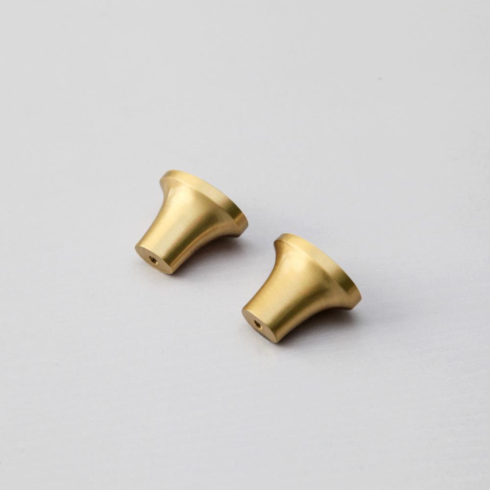 Maxery Furniture Hardware Copper Kitchen Cabinet Drawer Brass Pull Handle Knob
